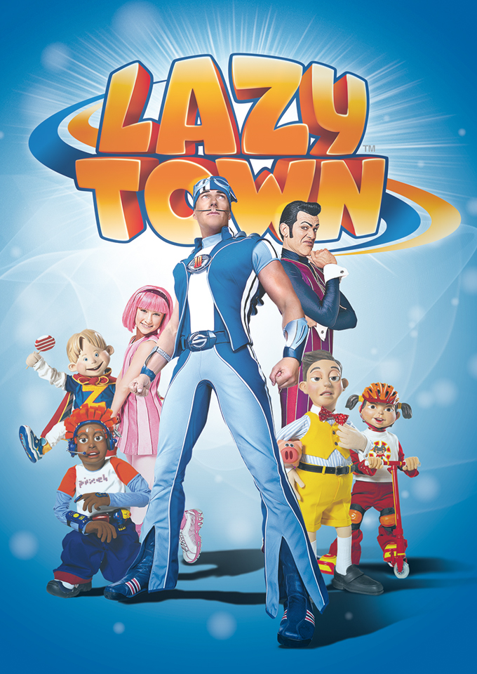 Lazytown: Sticking-plasters and lip balm