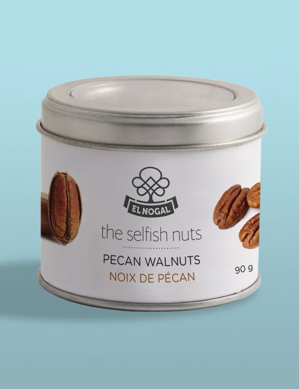 Diseño etiquetas botes para The Selfish Nuts, El Nogal - Koolbrand
