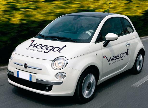 Branding diseño vinilos Weegot Koolbrand