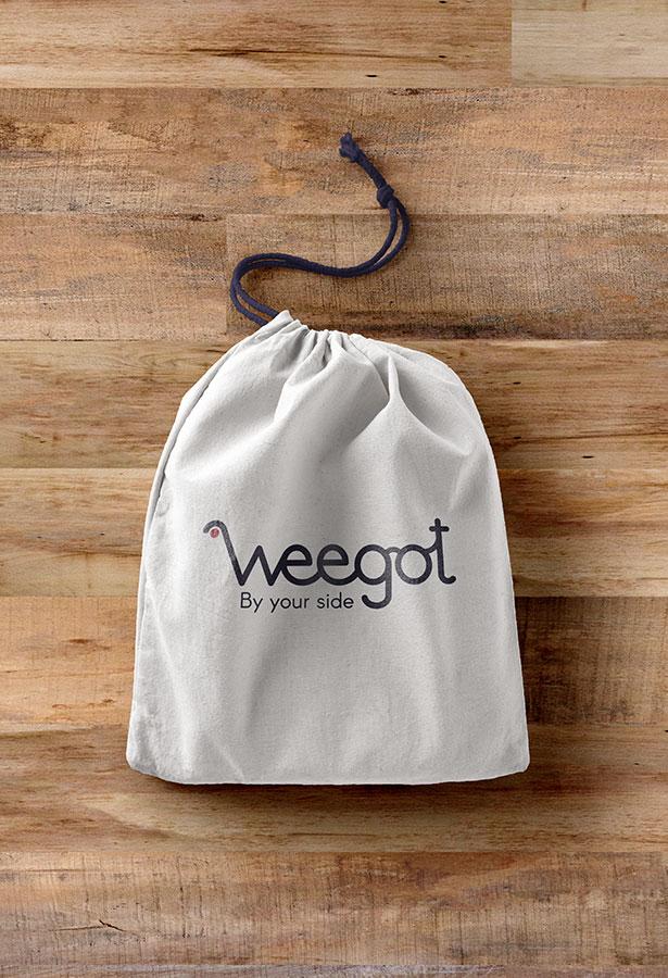 Diseño merchandising Weegot Koolbrand