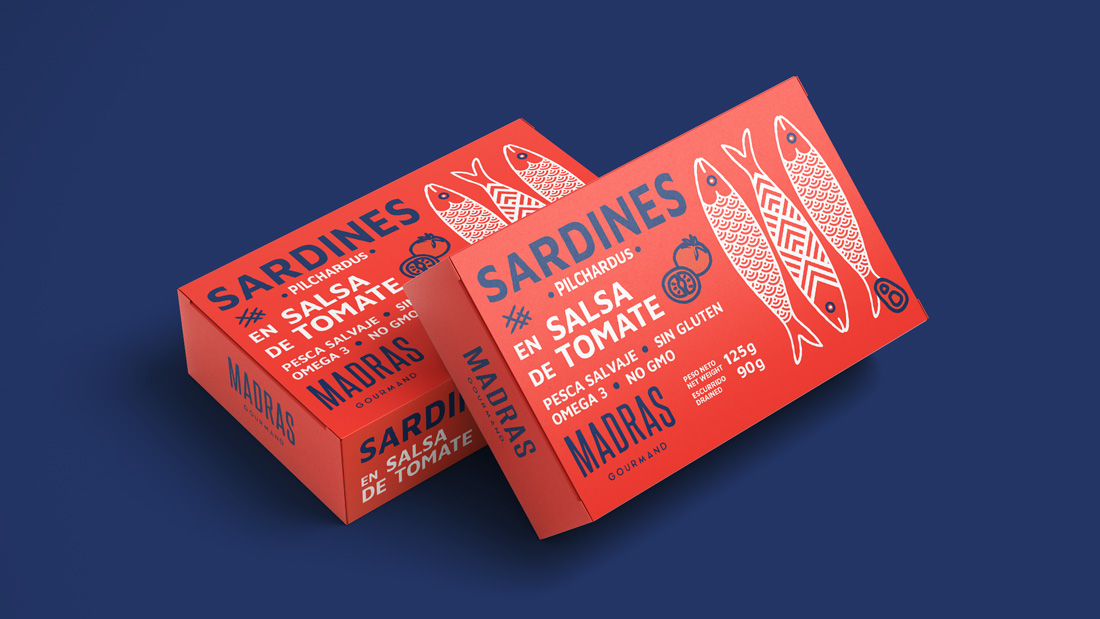 madras gourmand packaging