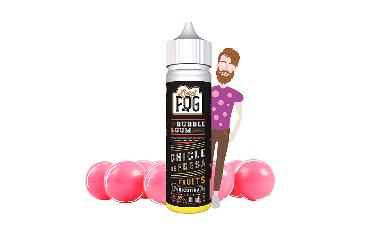 lord fog eliquid vapeo chicle