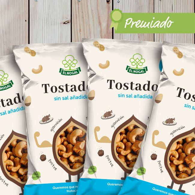 El Nogal: Packaging tostados